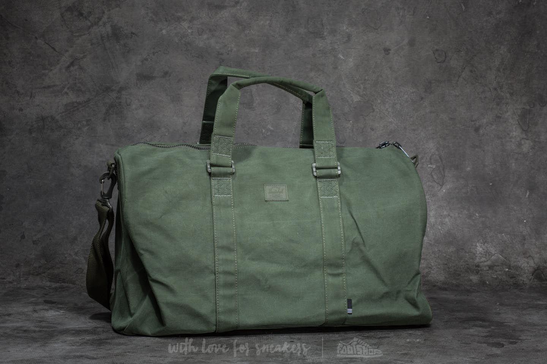 48325ea13c3b Lyst - Herschel Supply Co. Novel Duffle Bag Forest Night in Green ...