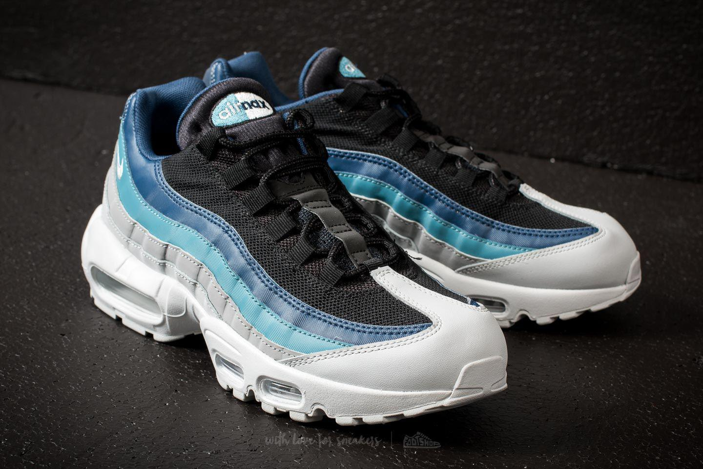 premium selection bcbfd 67bbe sweden lyst nike air max 95 essential reverse stash pure platinum 41a27  5d039