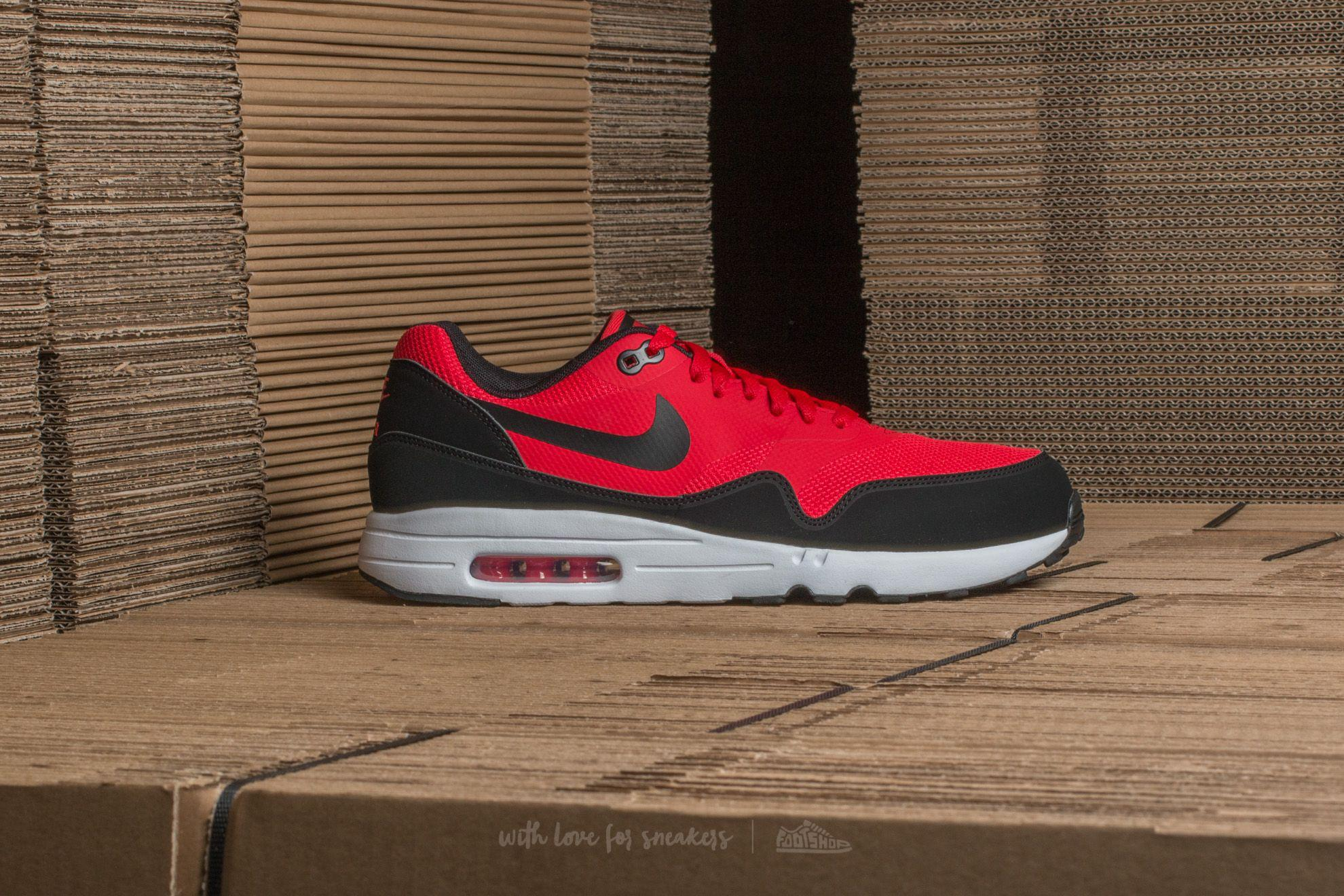 08f42311c17386 Lyst - Nike Air Max 1 Ultra 2.0 Essential University Red  Black ...