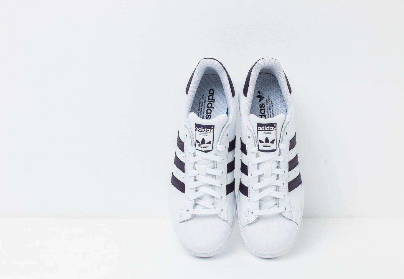 size 40 4c980 5c9b2 Adidas Originals - Adidas Superstar W Ftw White  Legpur  Core Black - Lyst.  View fullscreen
