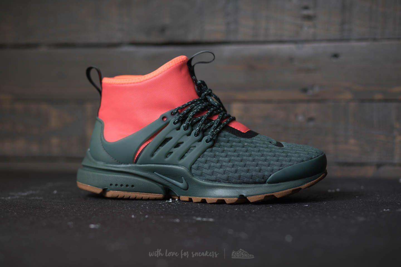 sports shoes 6b5ed 080a8 ... sweden nike w air presto mid utility premium vintage green vintage  green lyst. view fullscreen ...