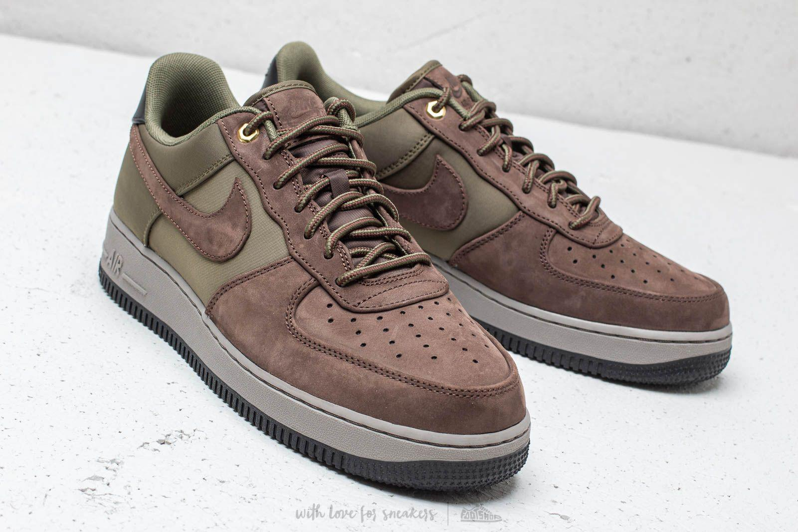 810cbfd031 Nike Air Force 1 ́07 Premier Baroque Brown/ Army Olive in Brown for ...