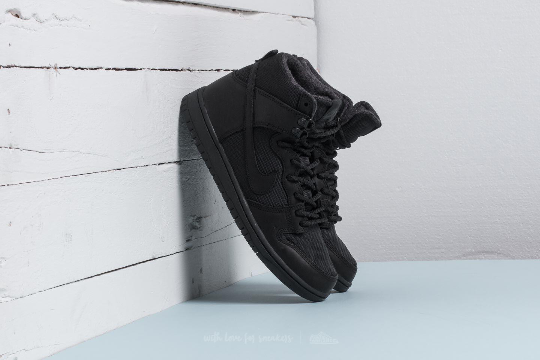san francisco 2e294 35c68 Nike Sb Zoom Dunk Hi Pro Bota Black/ Black-anthracite in Black for ...