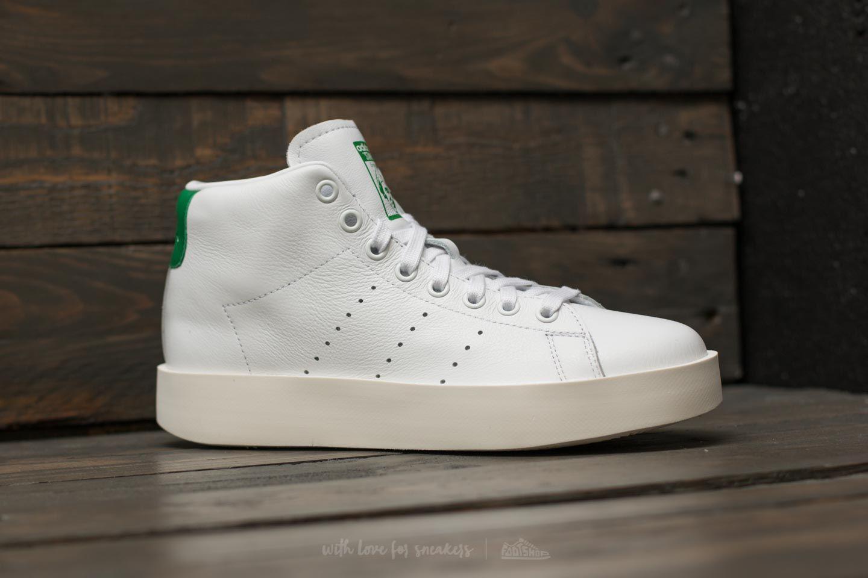 1084bc8697f5 Lyst - adidas Originals Adidas Stan Smith Bold Mid W Ftw White  Ftw ...