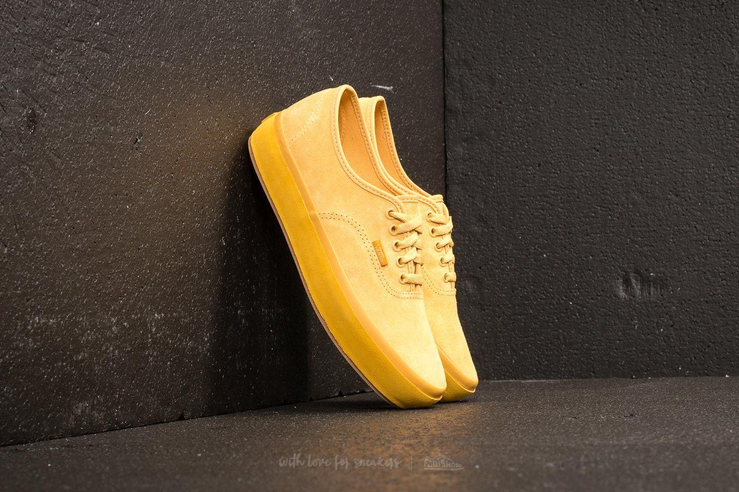 Lyst - Vans Authentic Platform (suede Outsole) Ochre  Tawny Olive 25c8be10d