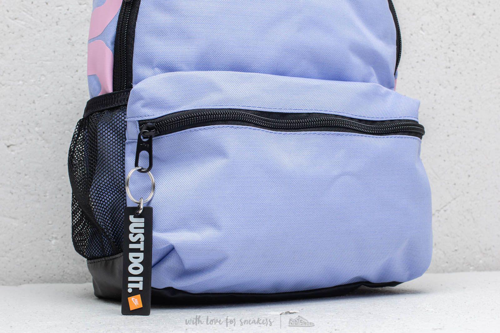 c96c0c2ce80b2 Nike Brasilia Just Do It Mini Backpack Purple  Pink in Blue - Lyst