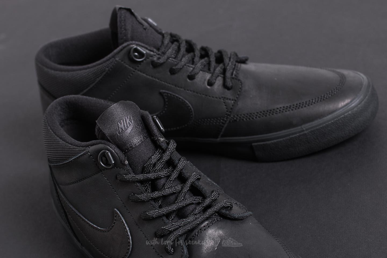 899474e4ee2f Lyst - Nike Sb Portmore Ii Solar Mid Premium Black  Black-anthracite ...