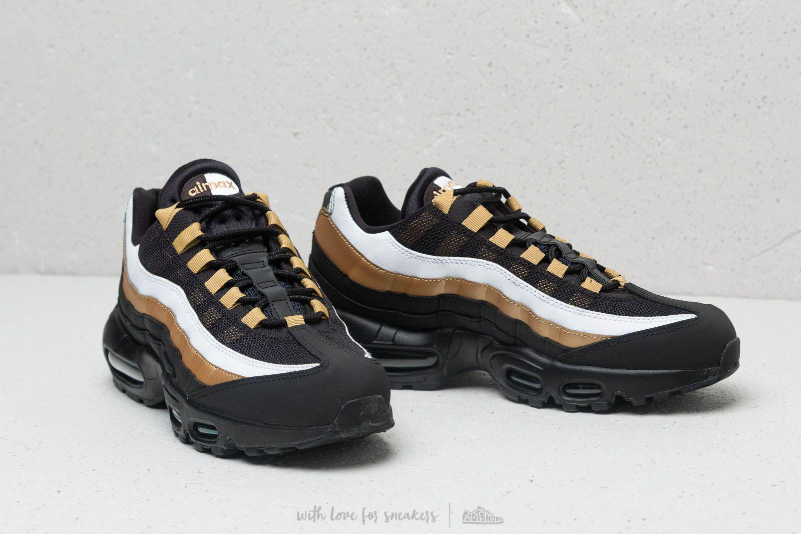 official photos df82b 64d9a Nike Air Max 95 Og Black  Black-metallic Gold in Black for Men - Lyst