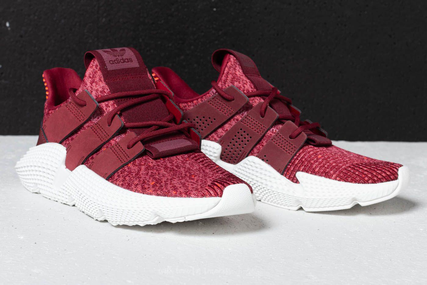 adidas Originals PROPHERE - Trainers - trace maroon/noble maroon/solar red z5r3BGe
