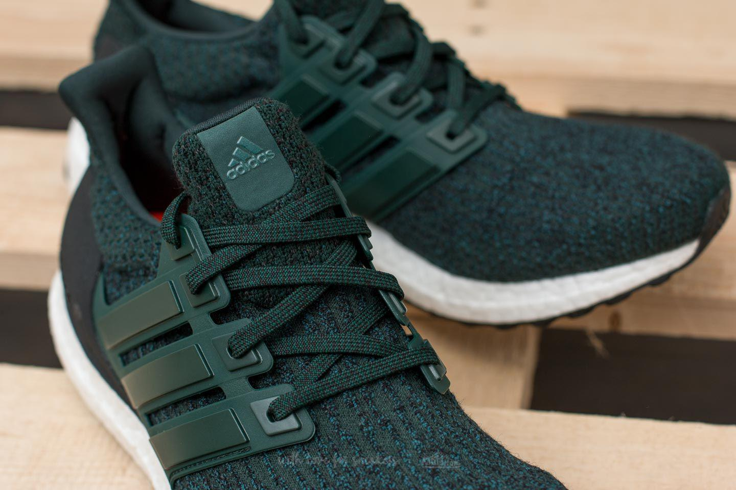 online retailer 96d62 92683 sale adidas ultra boost forest green 677e7 189f2 clearance lyst footshop adidas  ultraboost green night core black for men 5b1fe c4cae