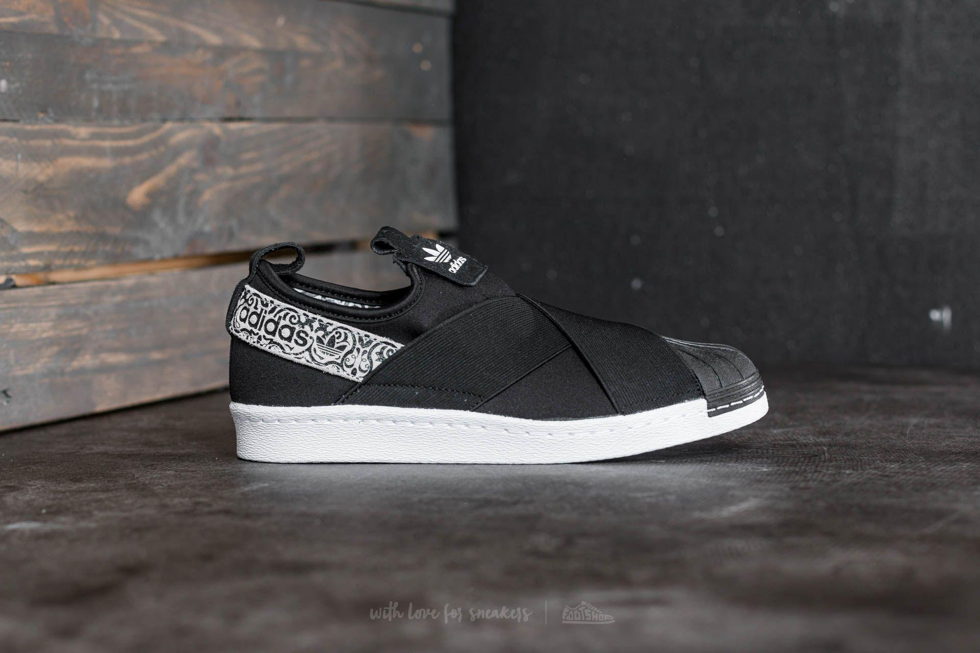 1ed693b30 Lyst - adidas Originals Adidas Superstar Slip On W Core Black  Ftw ...