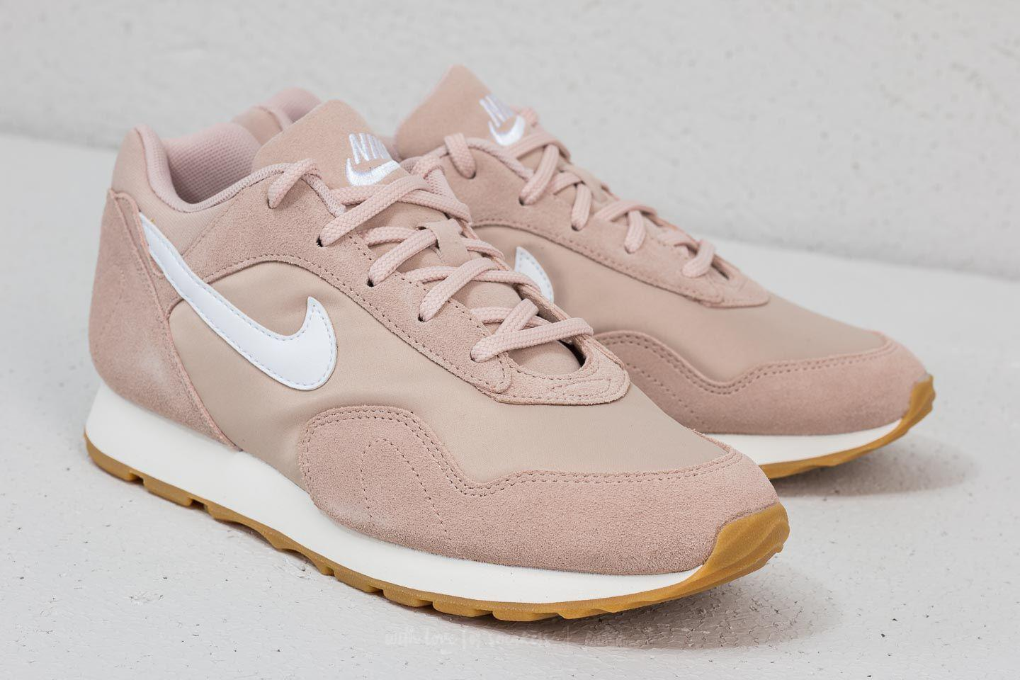 Nike Sportswear OUTBURST - Trainers - particle beige/white/sand pnToSOXlK