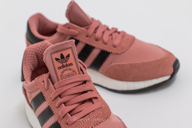 1f247274b31 Lyst - adidas Originals Adidas Iniki Runner Raw Pink  Core Black ...