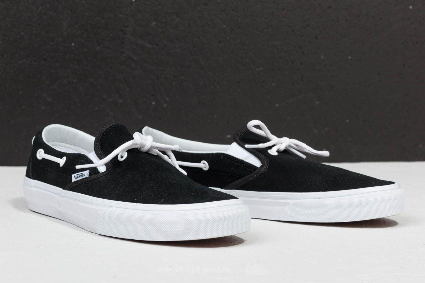 fc19dfcc49 Lyst - Vans Lacey 72 (suede) Leather Lace  Black in Black