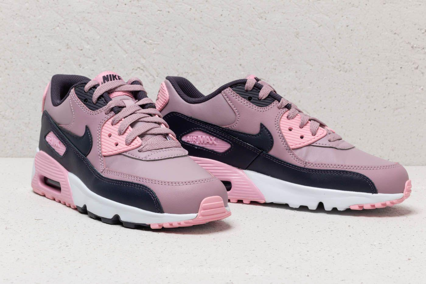 quality design a6e33 f4436 ... top quality nike air max 90 leather gs elemental rose gridiron pink .  view fullscreen a9ad1