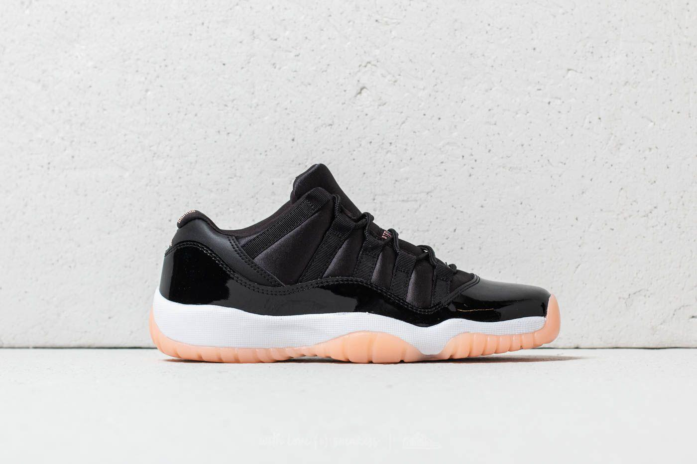 843a205d3f5a47 Lyst - Nike Air 11 Retro Low Gg Black  Bleached Coral-white in Black