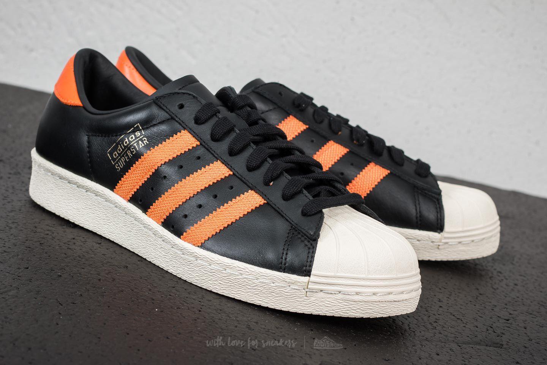c58d144fe3cd Lyst - adidas Originals Adidas Superstar Og Core Black  Tra Orange ...