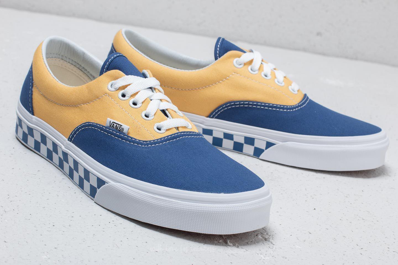 3553676b1c Lyst - Vans Era (bmx Checkerboard) True Blue  Yellow in Blue for Men