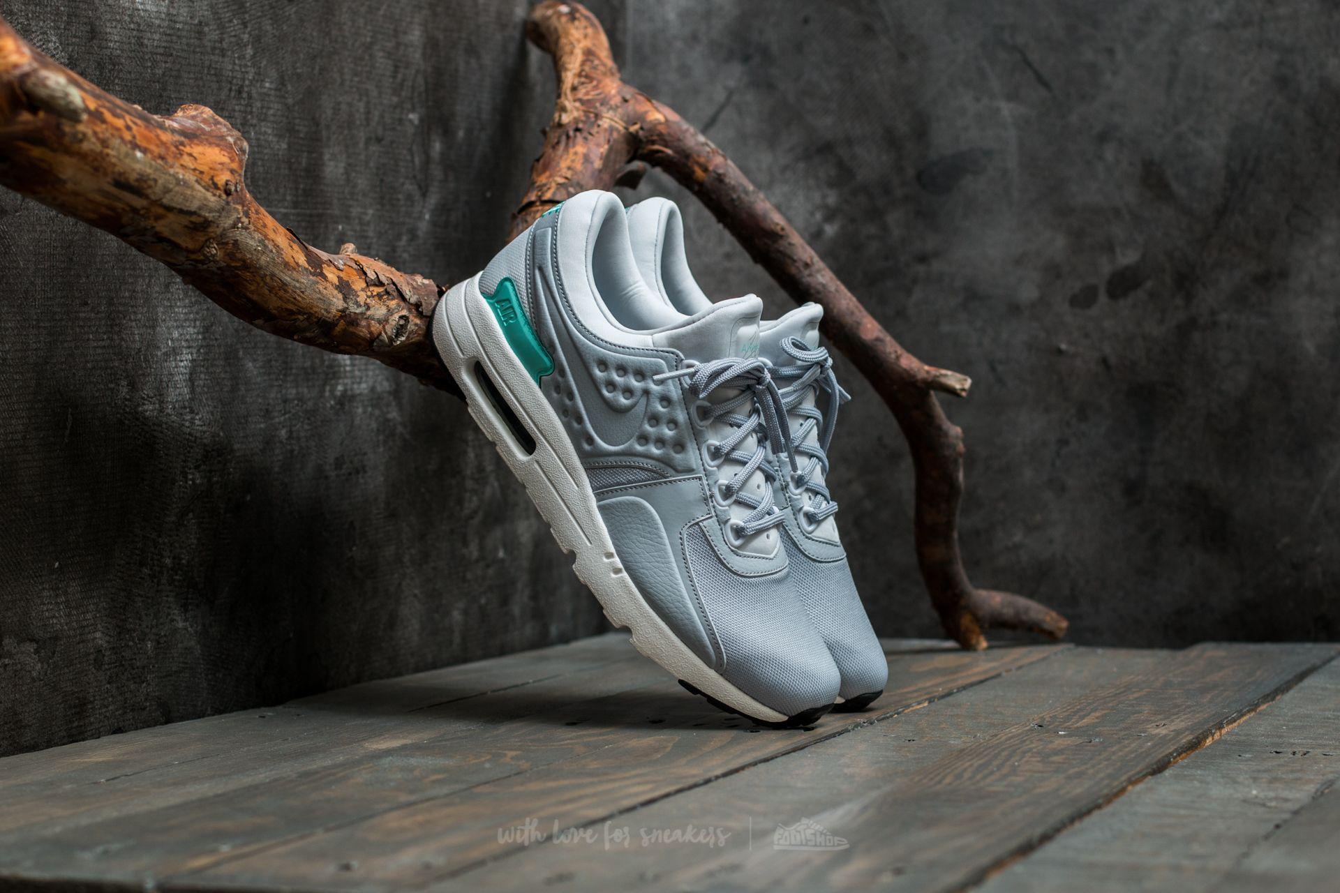 bd7dee50f3 ... where can i buy lyst nike air max zero premium pure platinum wolf grey  in gray