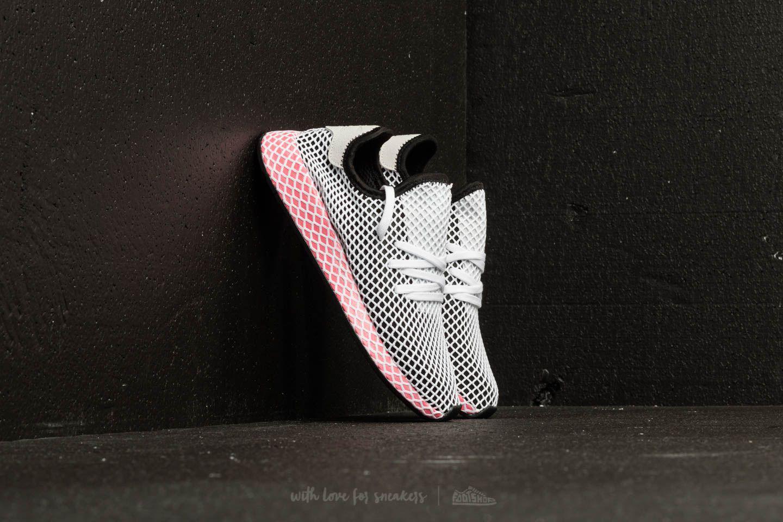 meet f446c d90ab Lyst - adidas Originals Adidas Deerupt Runner W Core Black C