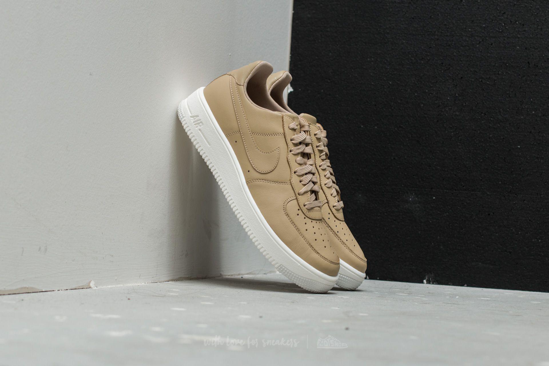 khaki air force 1 leather