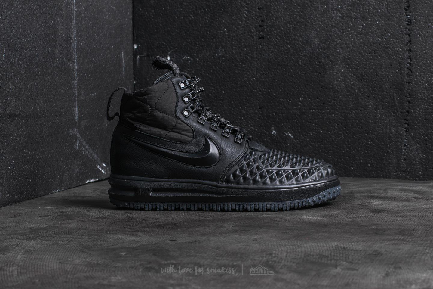 low cost b6f46 1a2be Nike Lunar Force 1 Duckboot ́17 Black  Black-anthracite in Black for ...