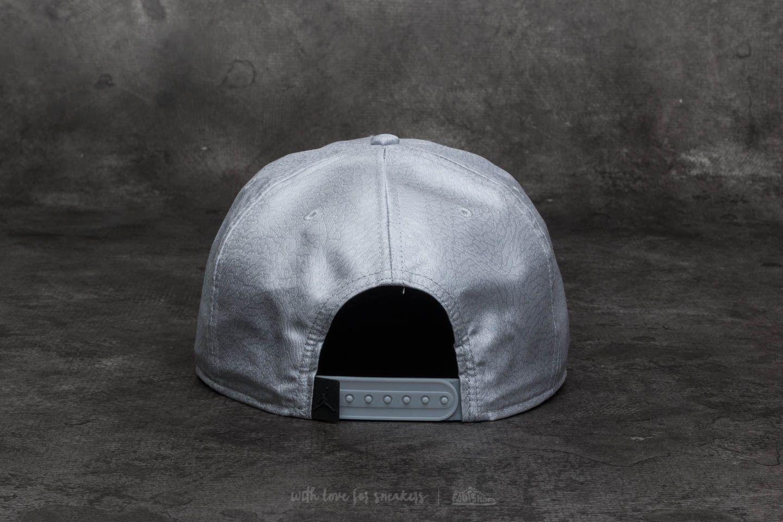 7e1c1e04b38 Nike Jumpman Elephant Print Ingot Pro Cap Wolf Grey in Gray for Men ...