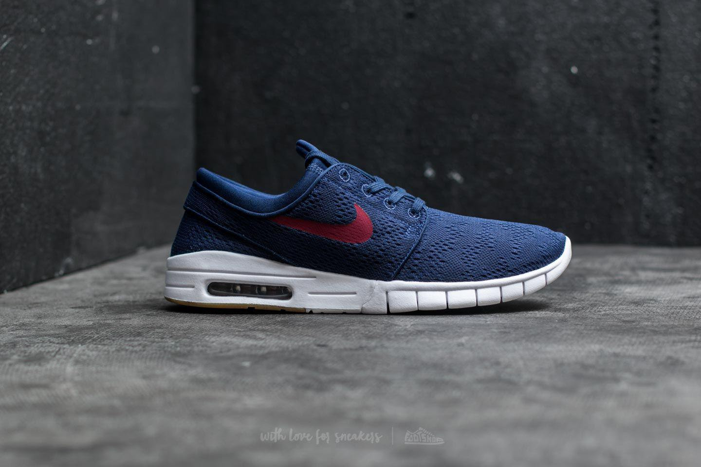 newest collection 90576 81e25 Nike Stefan Janoski Max Binary Blue  Team Red in Blue for Men - Lyst