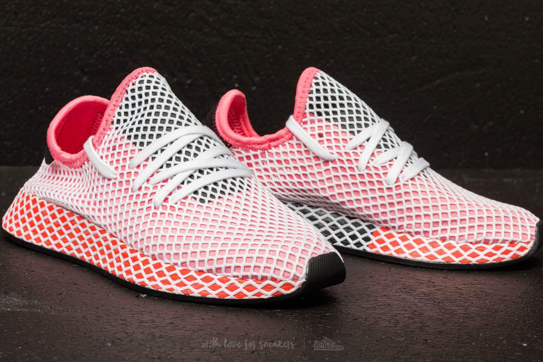 e9e9ff97daa3c Lyst - adidas Originals Adidas Deerupt Runner W Chalk Pink  Chalk ...