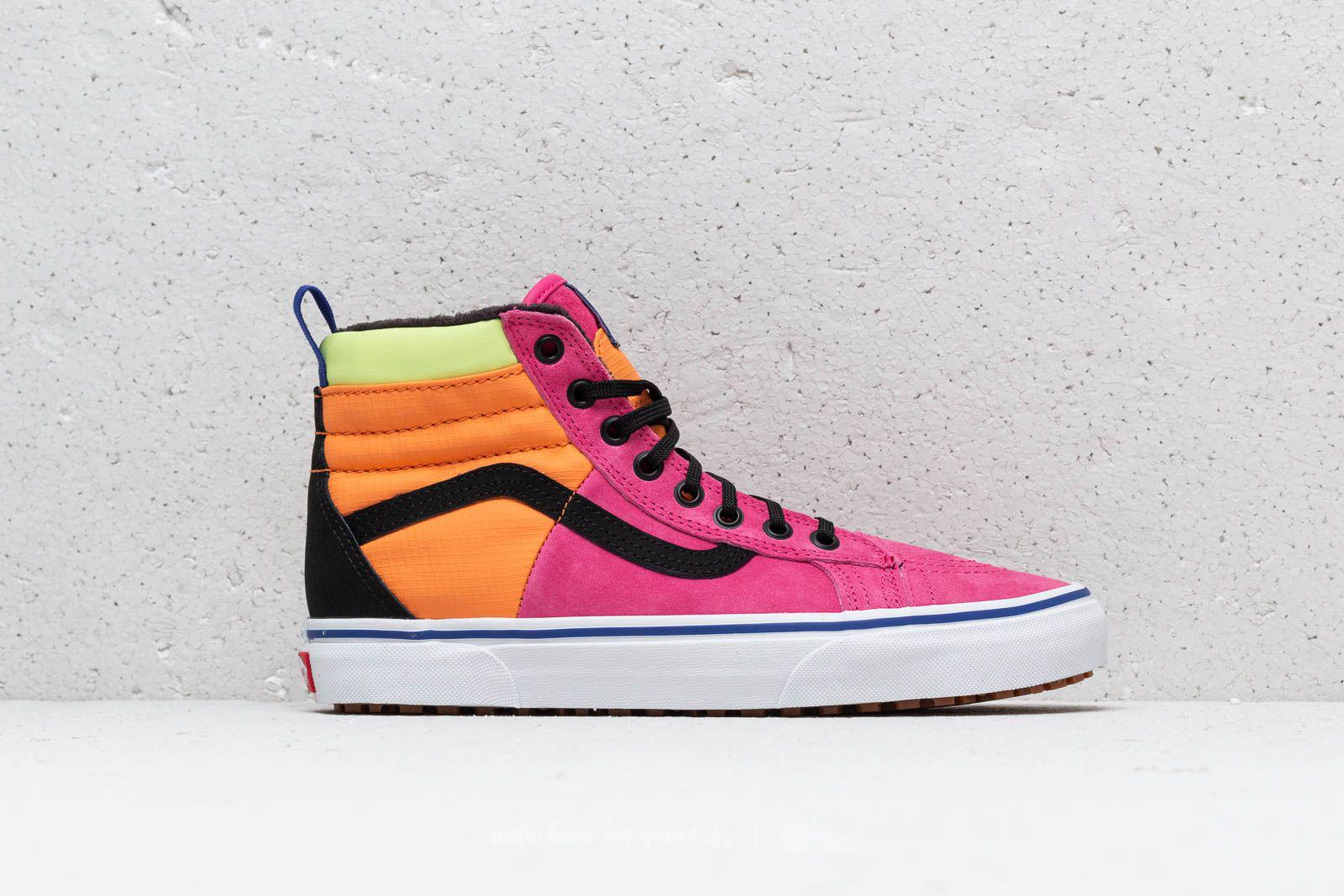 24ad978631 Lyst - Vans Sk8-hi Mte Sneakers In Pink Vn0a3dq5uq61 in Pink for Men