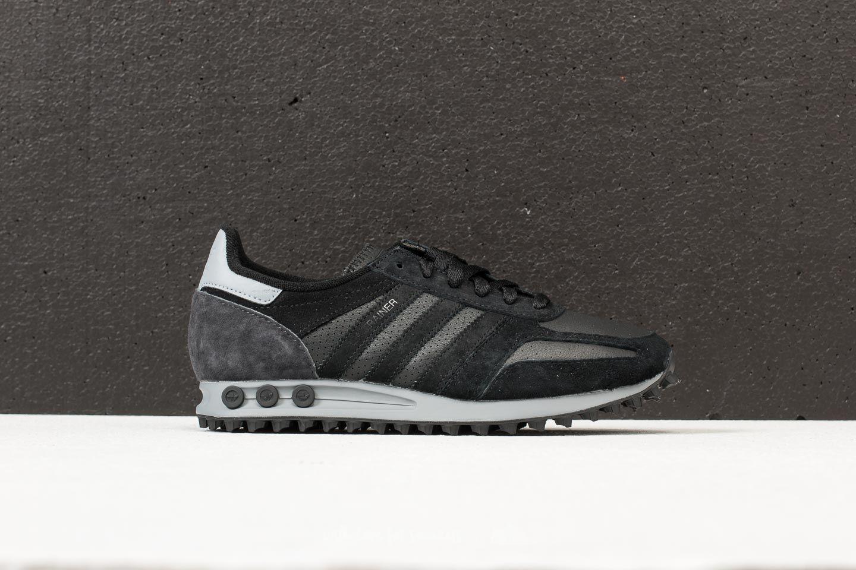 9a5210cb5bb0 ... good service de8c7 9d94d Lyst - Adidas Originals Adidas La Trainer Core  Black Core Bl ...