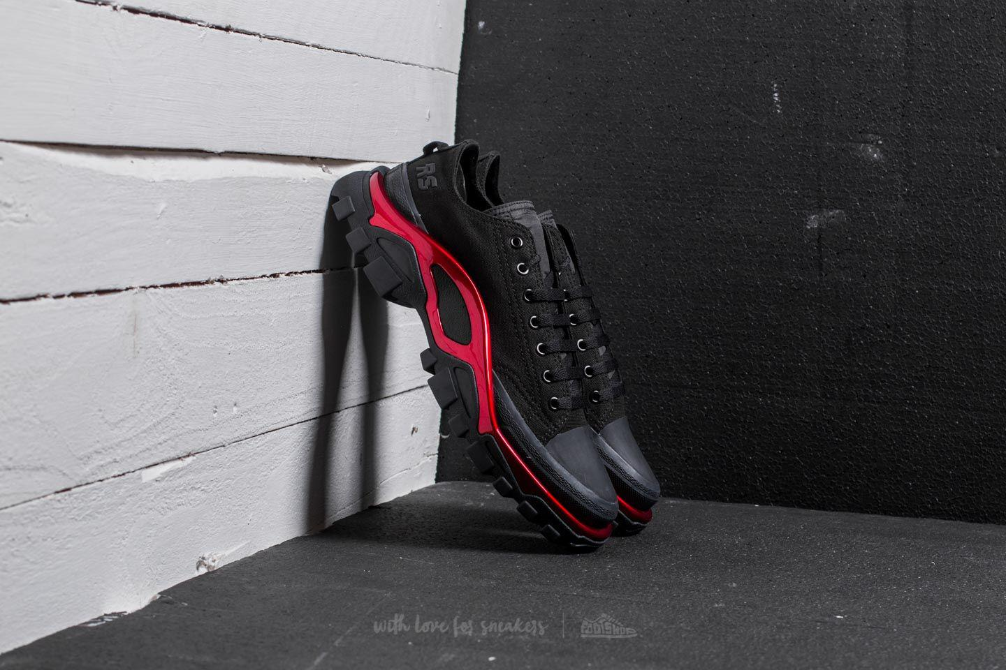 Lyst Footshop Raf Simons Nuove / Adidas X Nucleo Nero / Nuove Scarlet Runner ed44a7