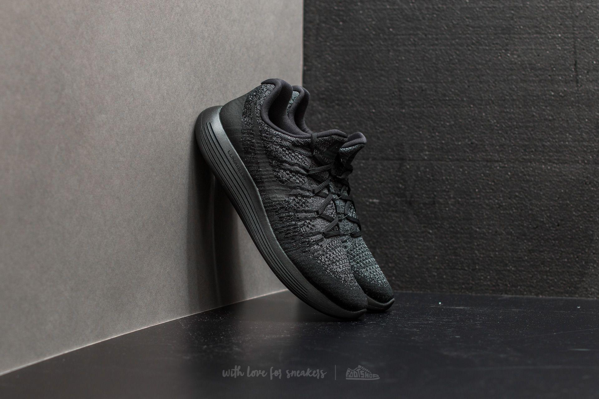 a451f24d0f3 Lyst - Nike Lunarepic Low Flyknit 2 Black  Black-dark Grey in Black ...