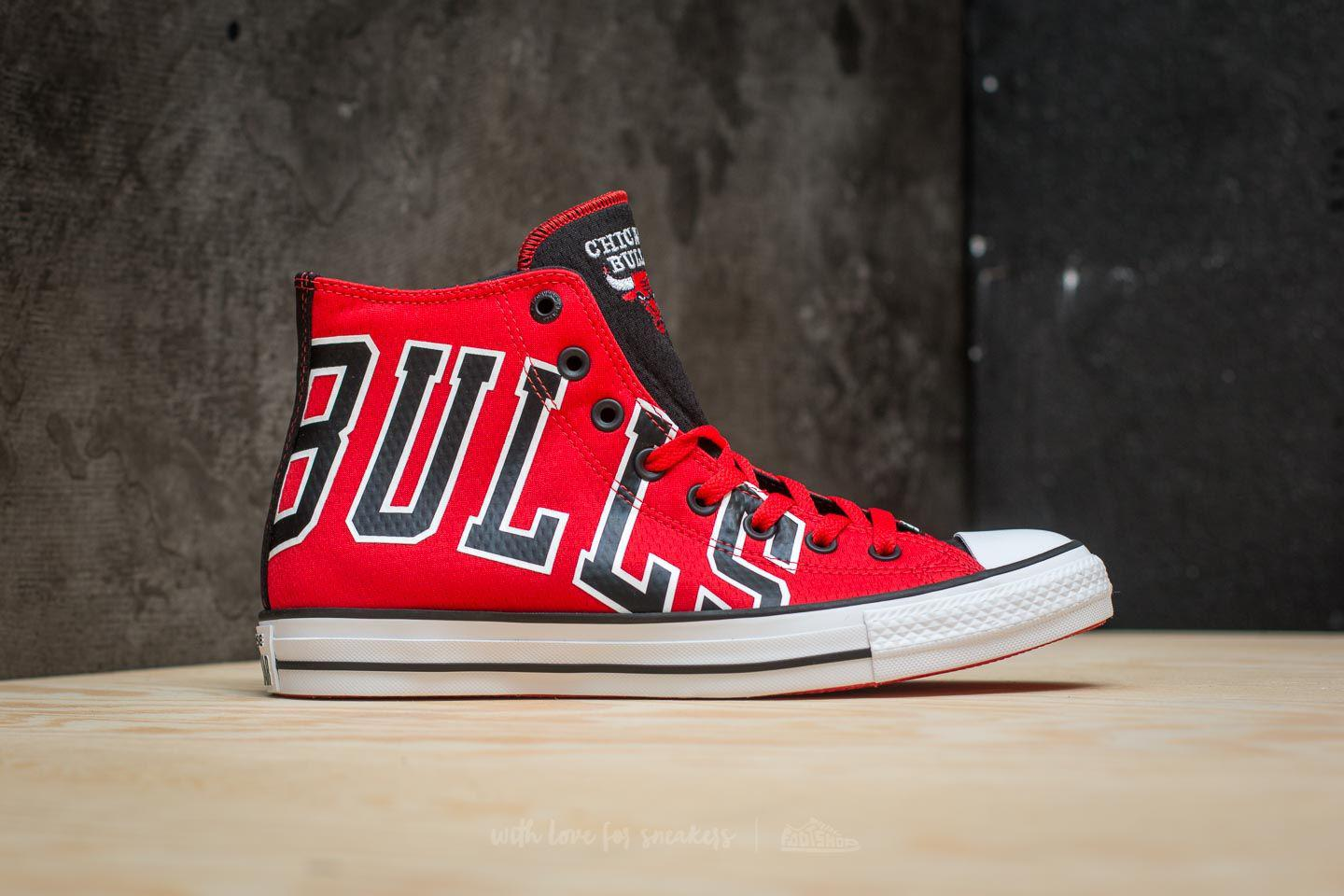 30d6871a04 Converse X Nba Chuck Taylor All Star Se Hi Red/ Black/ White in Red ...