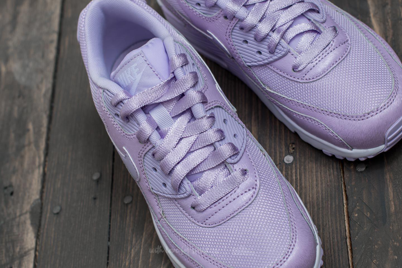 Lyst - Nike Air Max 90 Se Mesh (gs) Violet Mist  Violet Mist-white 3d9de76bc