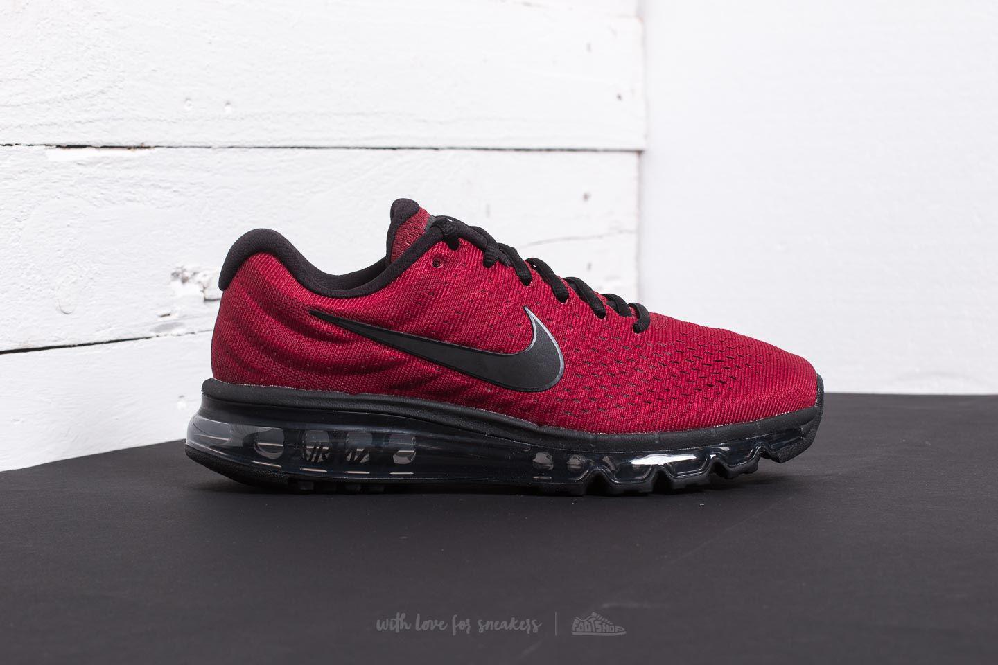 wholesale dealer de876 51908 ... top quality lyst nike air max 2017 team red black dark grey in red for  men ...