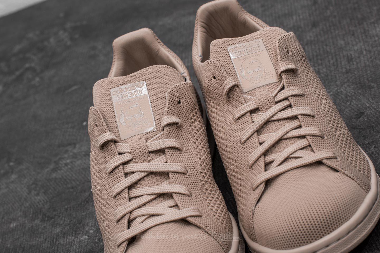Lyst - adidas Originals Adidas Stan Smith Primeknit Clay Brown  Clay ... 99ad8ffe0