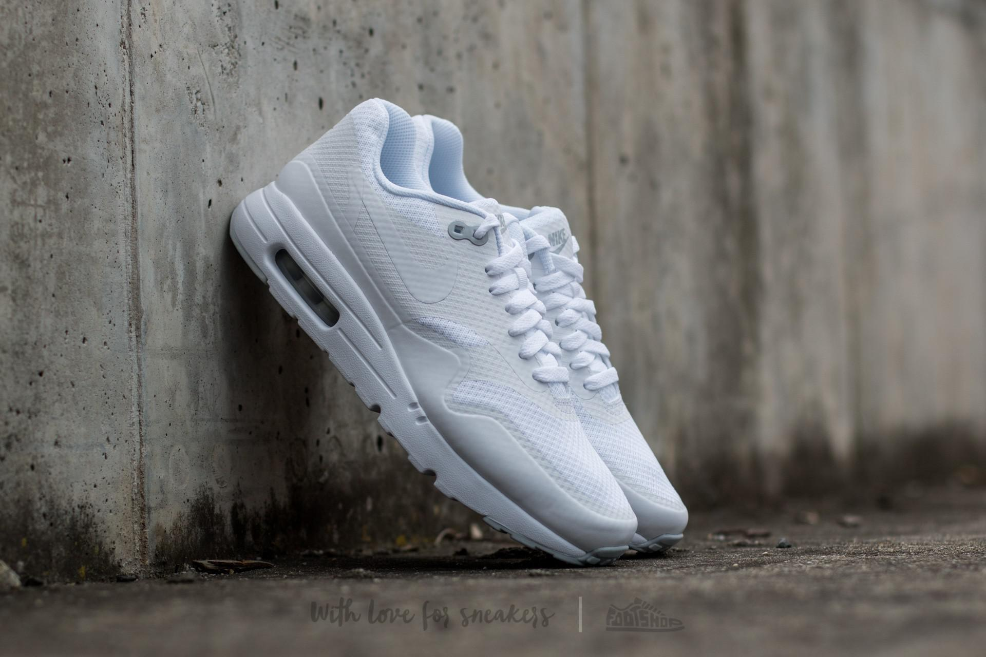 Lyst Nike Air Max 1 Ultra Essential Essential Essential bianca  bianca pure Platinum in   45e0f7