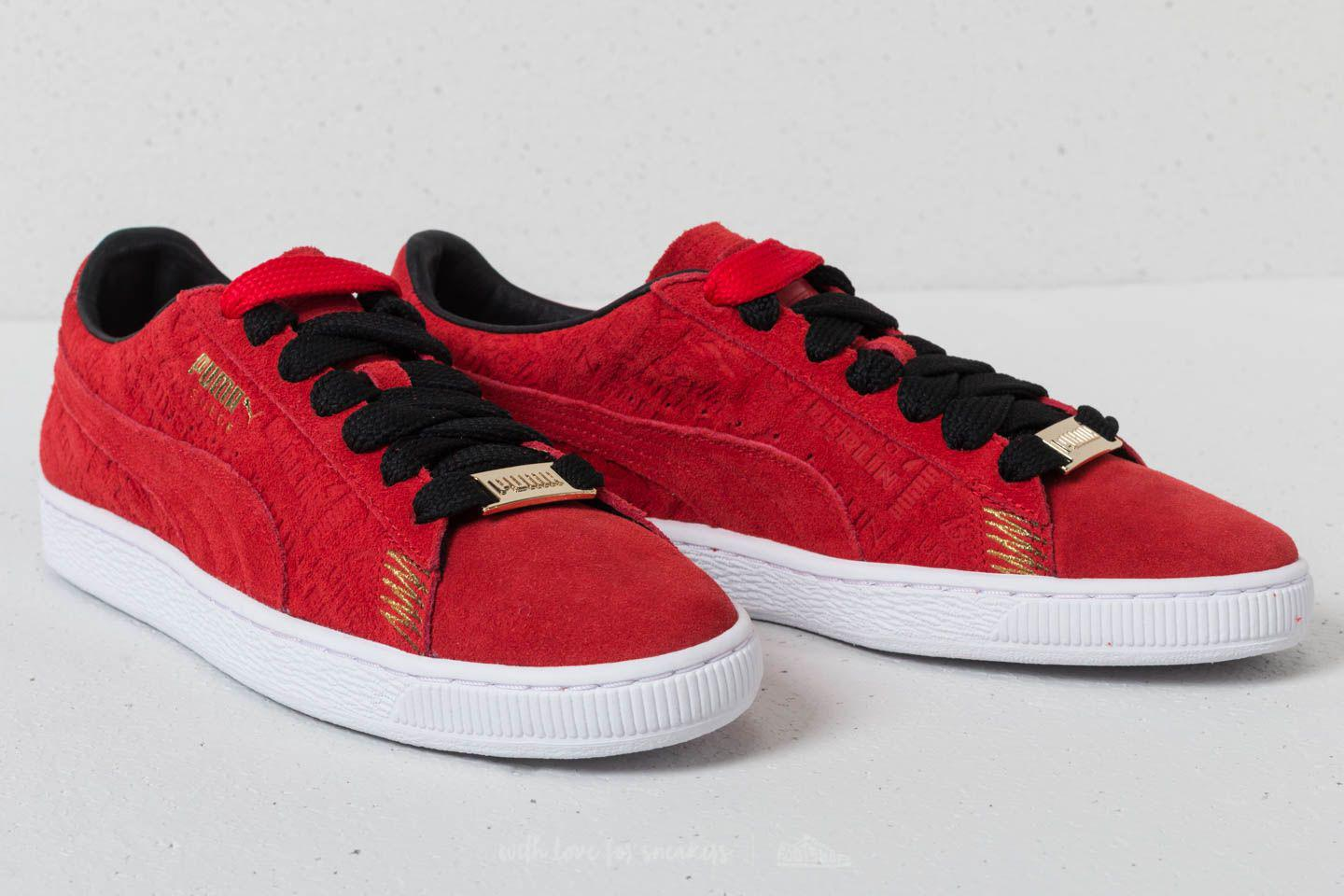 933c853c00a6 Lyst - PUMA Suede Classic Berlin Flame Scarlet-flame Scarlet in Red ...