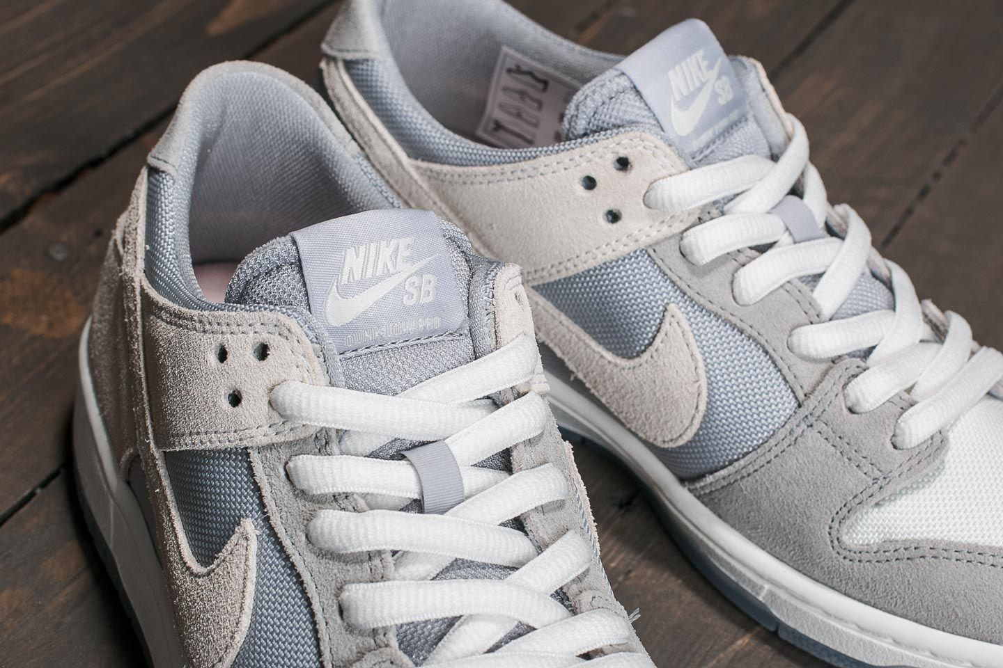 wholesale dealer 55b45 7a2bd Nike Sb Zoom Dunk Low Pro Wolf Grey  Summit White-clear in Gray for ...