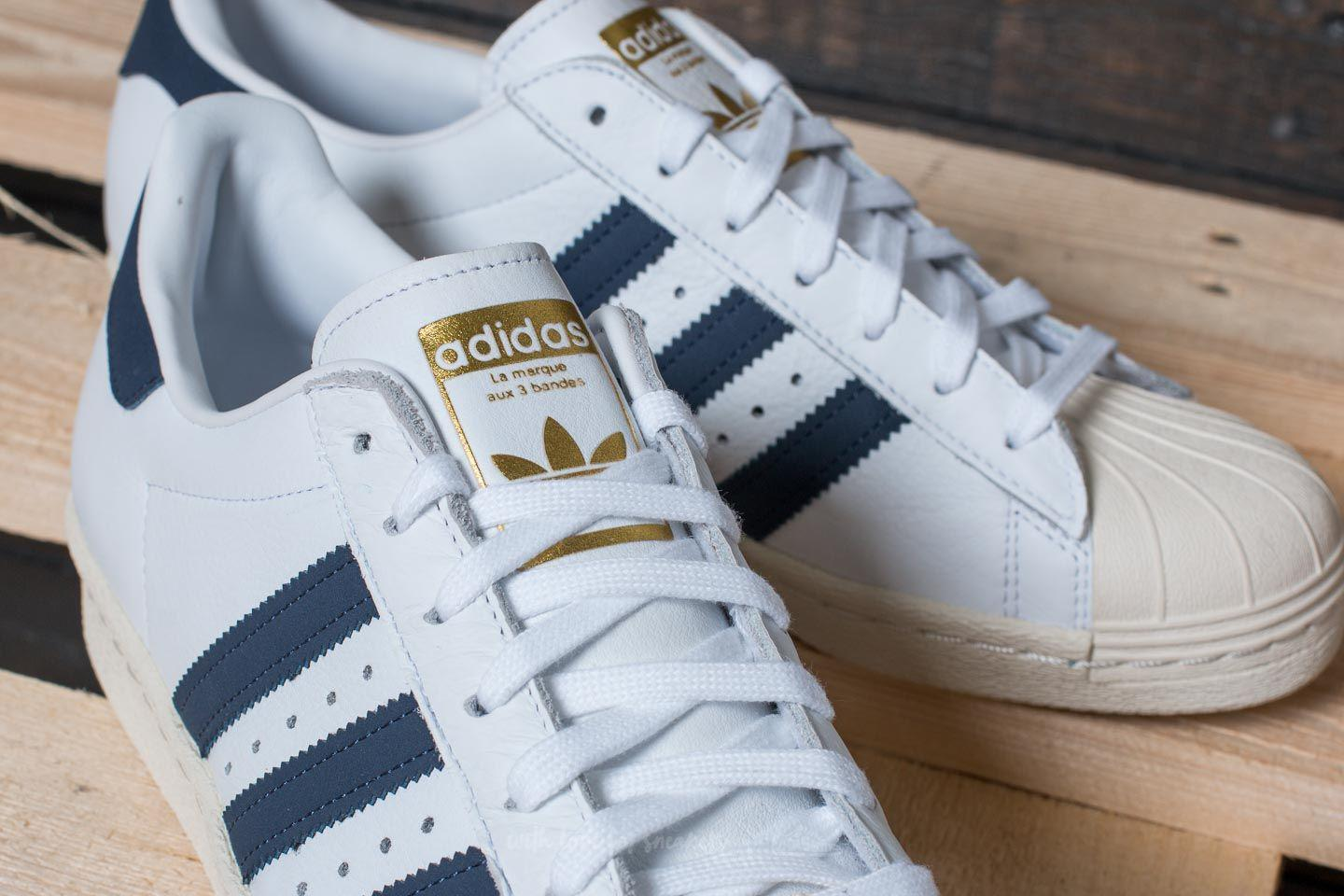 8b15c81c3b discount code for lyst adidas originals adidas superstar 80s ftw white  trace blue 2e660 9ffbe