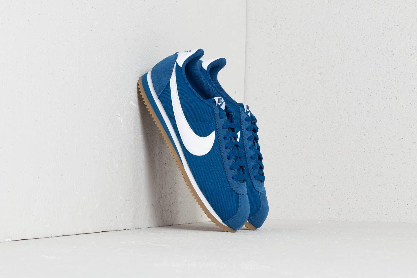 huge selection of 3ba50 070e6 ... switzerland lyst nike classic cortez nylon gym blue white gum light  brown in 9634c 700df