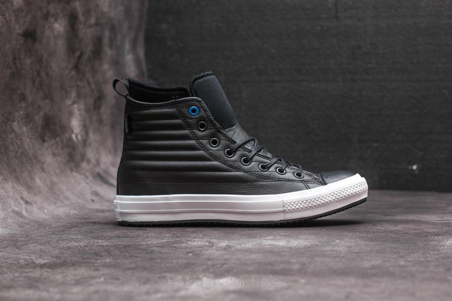 converse waterproof boot quilted leather