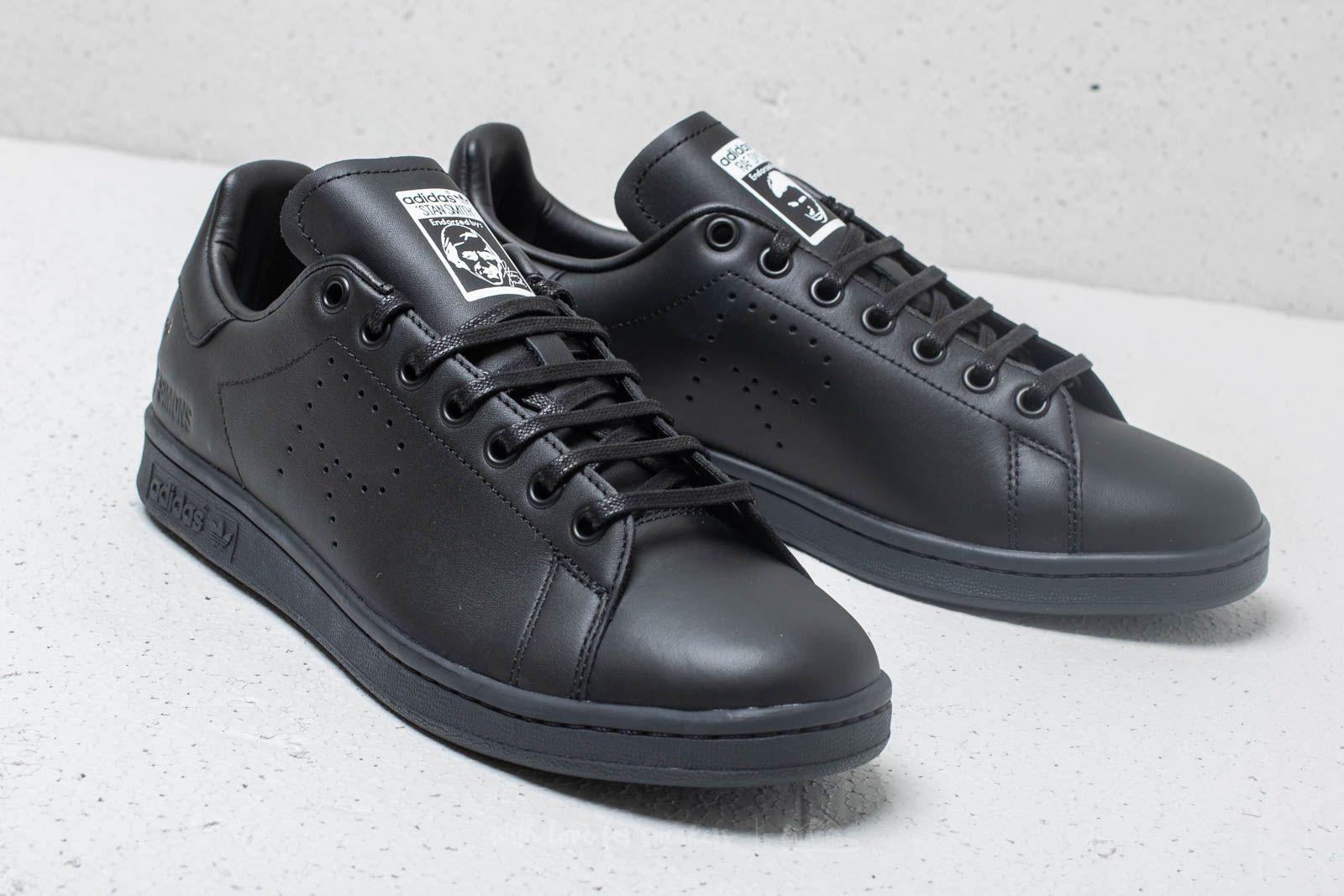 f305c7bfdfec Lyst - Footshop Adidas X Raf Simons Stan Smith Core Black  Dgh Solid ...
