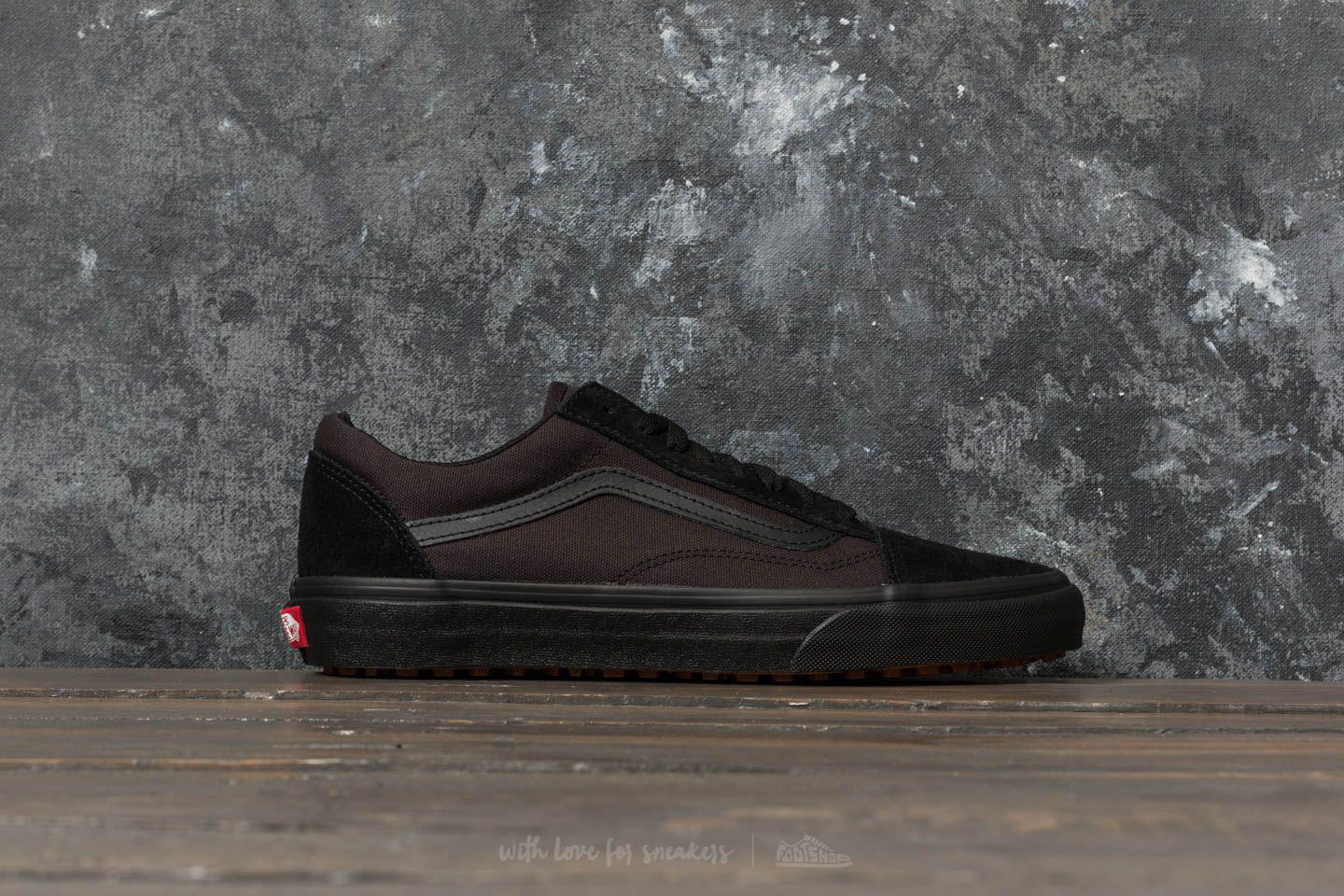 6eb17a24b52 Lyst - Vans Old Skool Uc (made For The Makers) Black  Black in Black ...