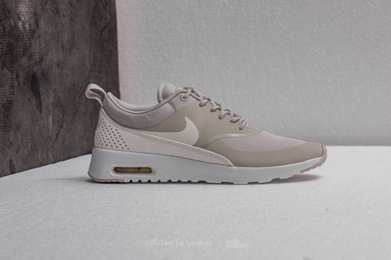 Nike - Gray Wmns Air Max Thea Light Bone/ Sail-white - Lyst. View fullscreen