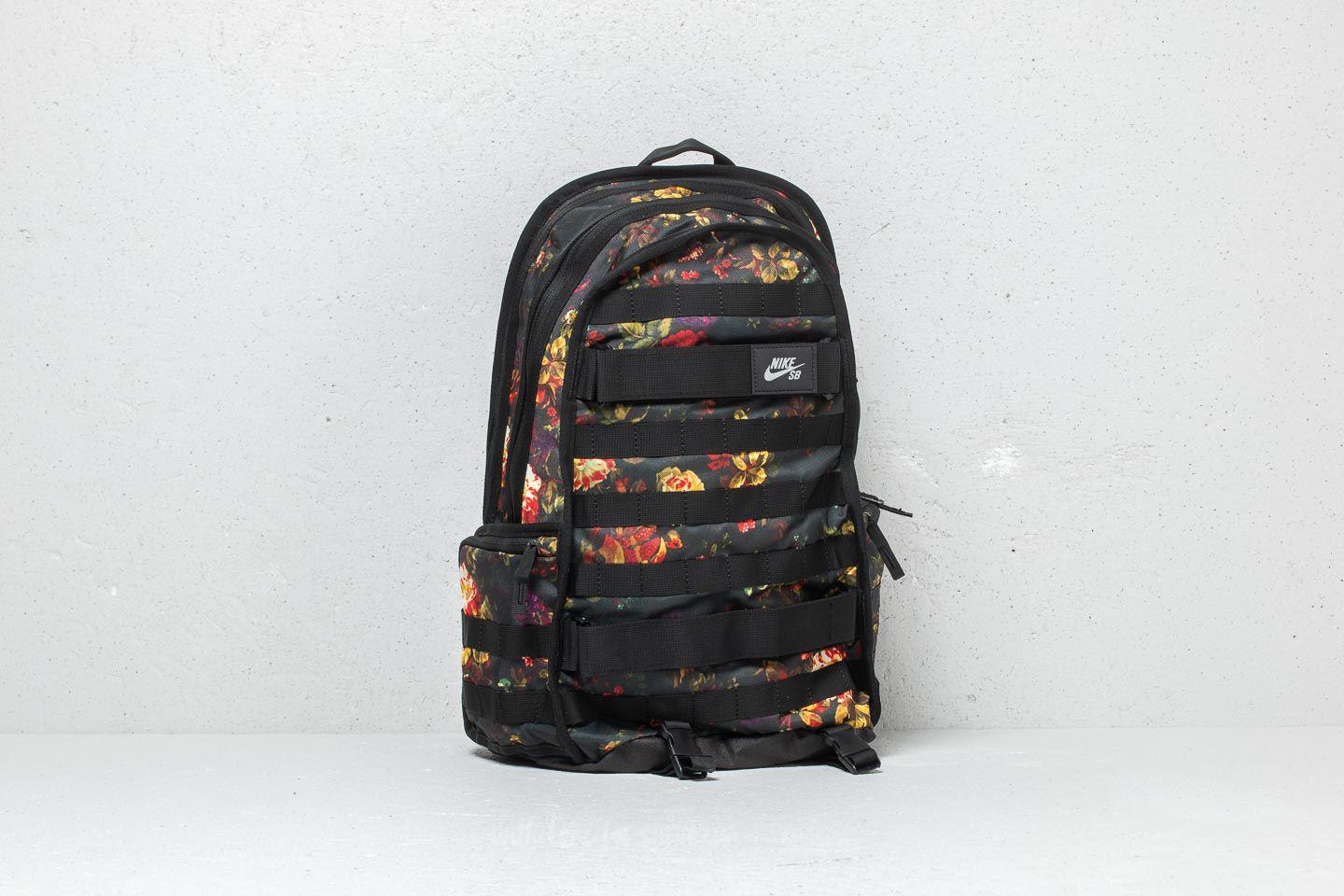 826b75f5b3bc Lyst - Nike Sb Rpm Graphic Backpack Floral  Black  Black in Black
