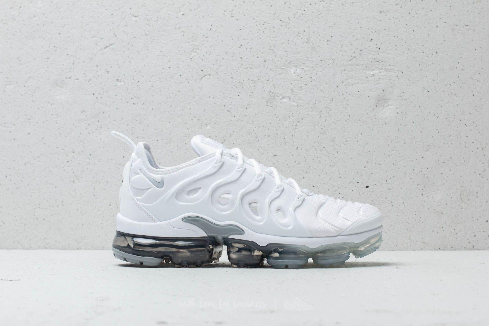 finest selection 3f6d7 f5067 Lyst - Nike Air Vapormax Plus White  Pure Platinum-wolf Grey for Men