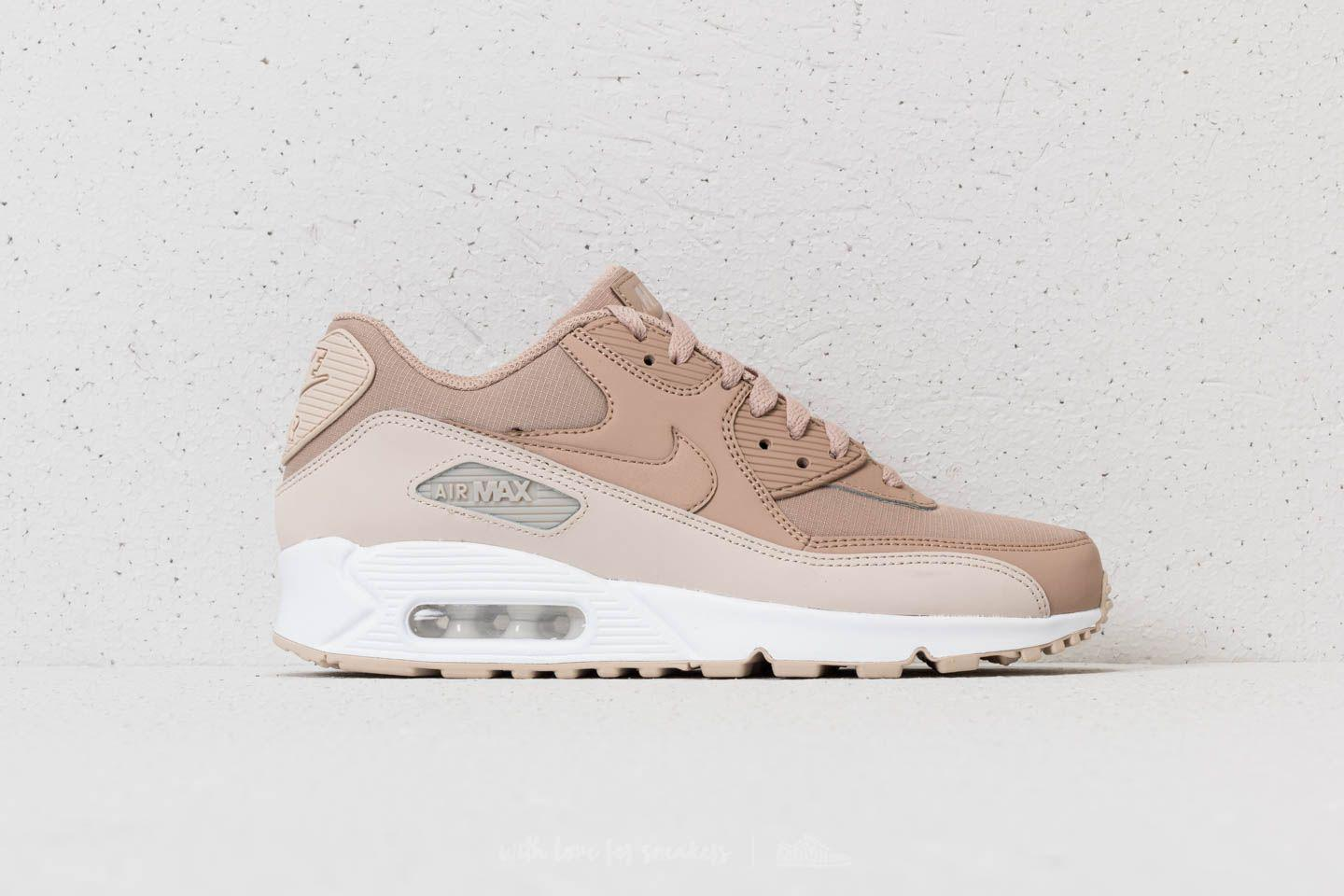 Lyst - Nike Air Max 90 Essential Desert Sand  Sand-white in Natural ... 34d1bcbbe