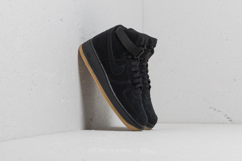 pretty nice 839e0 b1ed4 Lyst - Nike Air Force 1 High Lv8 (gs) Black  Black-gum Light Brown ...